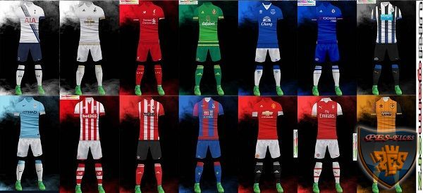 Premier League 2015/16 Kitpack