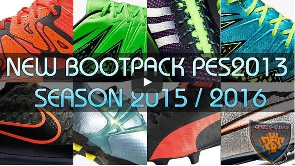 New Bootpack v1.0 Season 2015/2016