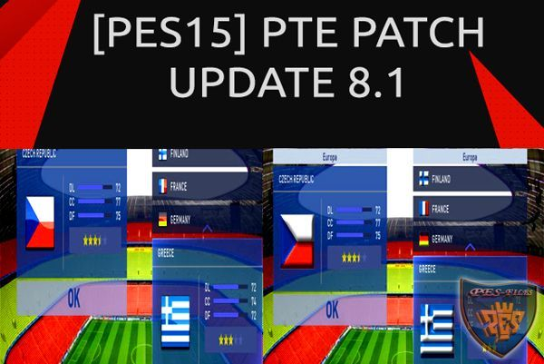 Packs Logos For PTE Patch 8.1 (Update Flags)