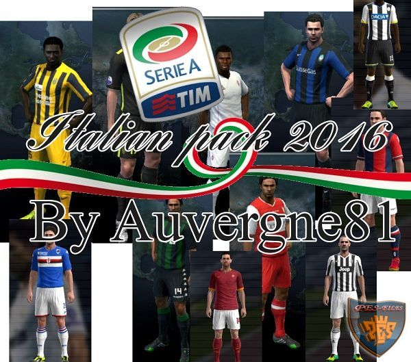 PES 2013 Serie A Kitpack 2015/16
