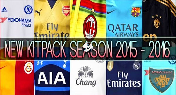 PES 2013 New Kitpack Season 2015/2016 HD