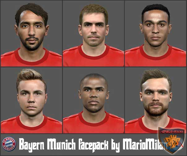 Bayern Munich facepack by MarioMilan & Sho9_6