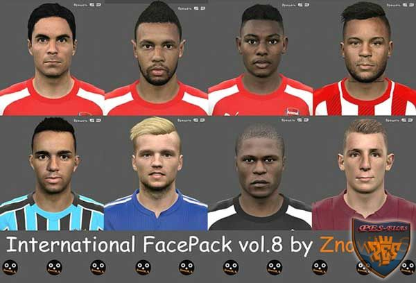 International FacePack vol.8 by Znovik_S