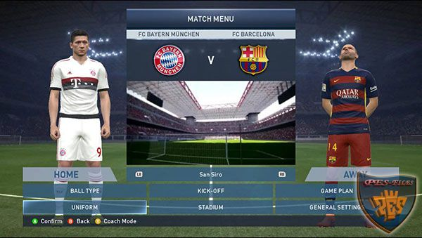 Patch Pes 2016 Demo For Pes 2015 by Saifudin Azis