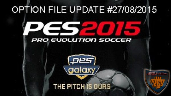 PESGalaxy 4.50 Option File Update 27.08.2015