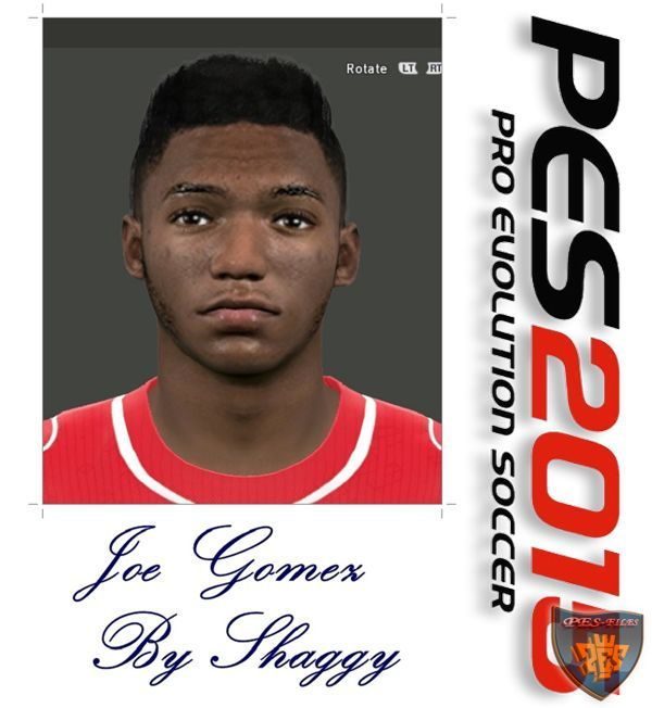 PES 2015 Joe Gomez Face By Shaggy