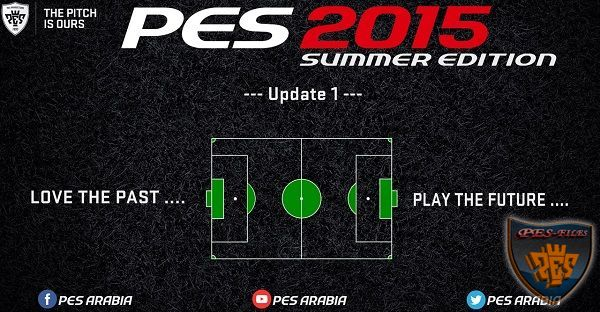 PES 2015 Summer Edition Update 1
