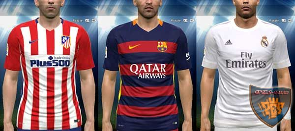 La Liga 15/16 Kits Pack (3in1 only)