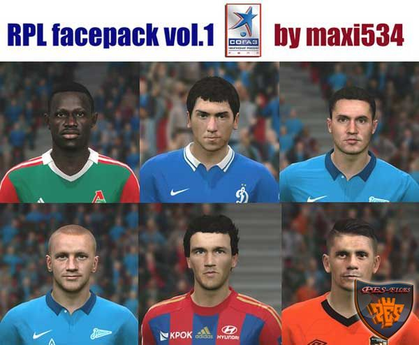 RPL Facepack vol.1 by maxi534