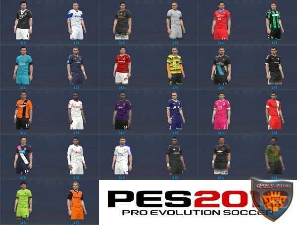 PES 2016 Third Kitpack 2015-16 All In One CPK