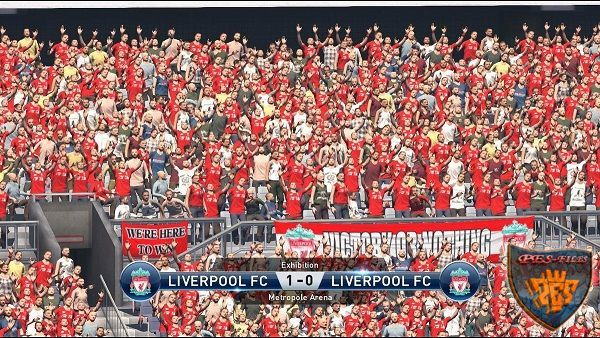 PES 2016 Color Fans In The Stands