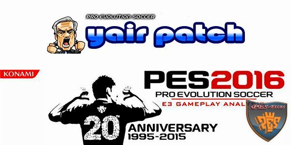 PES 2016 Gameplay Patch (21.9.15) by Yair