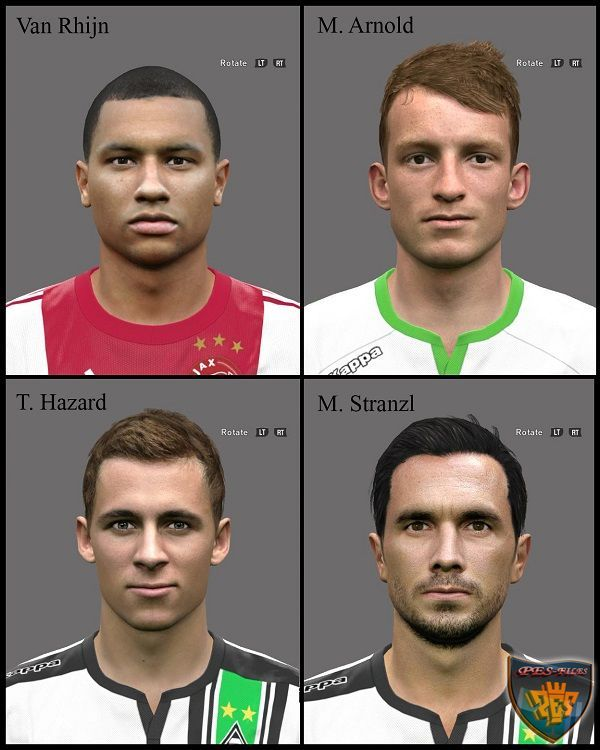 PES2016 Facepack 1 by A.Mussoullini