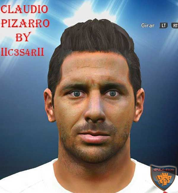 Face Claudio Pizarro by IIC3S4RII