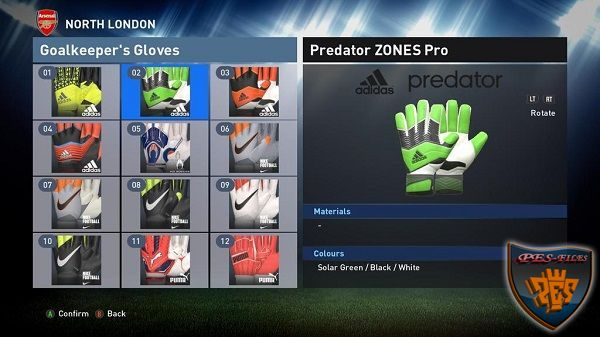Unlock 24 Gloves by Konami