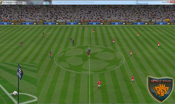 PES 2016 Turf + Corner Flag UCL By editha