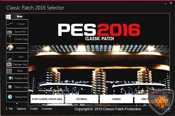 PES 2016 Classic Patch New Version Fix v1.1.1