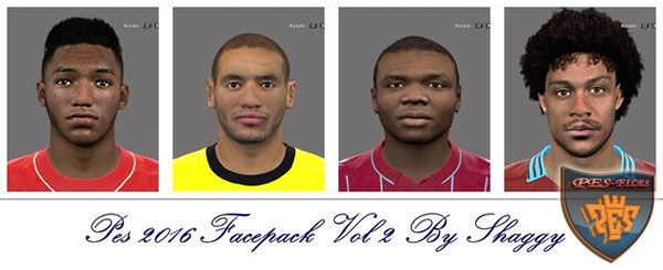 Pes 2016 EPL Facepack Vol 2 by Shaggy