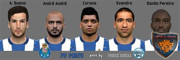 PES 2016 Fc.Porto Face Pack by prince shieka