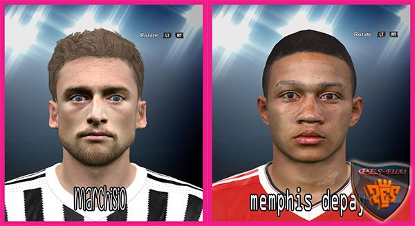 Marchisio & Depay Face 2016