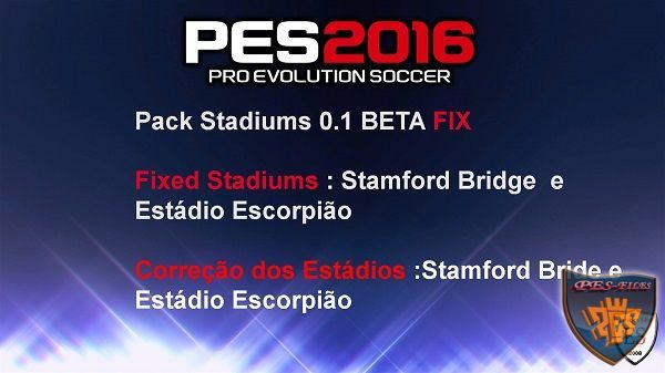 PES 2016 Pack Stadiums 0.1 BETA FIX