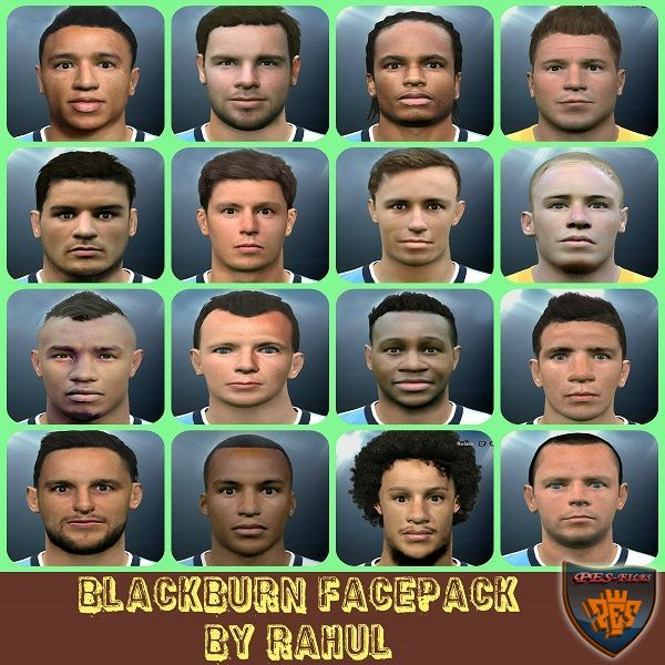 PES 2016 Blackburn Rovers Facepack