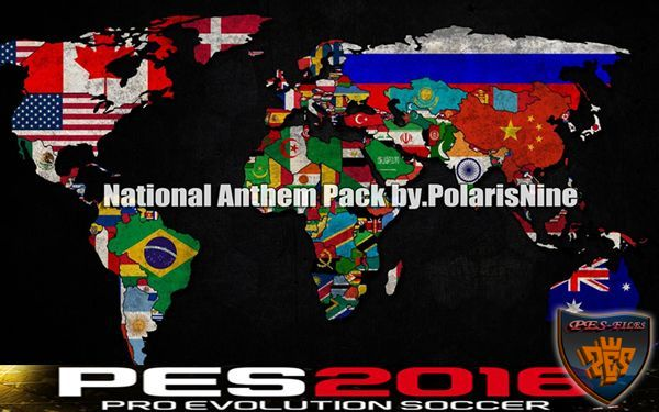 PES 2016 National Anthem Pack by PolarisNine