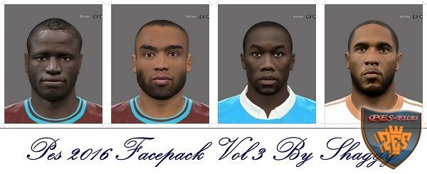 Pes 2016 Facepack Vol 3 by Shaggy