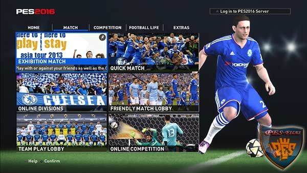 PES 2016 Chelsea Graphic Menu by dadanw