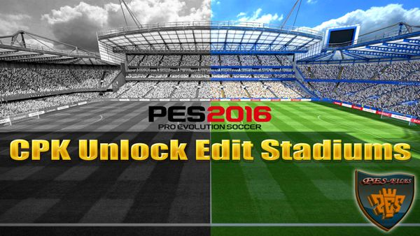 PES 2016 CPK Unlock Edit Stadiums (Linking and Names)
