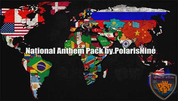 Pes 2016 National Anthem Pack V2 by PolarisNine
