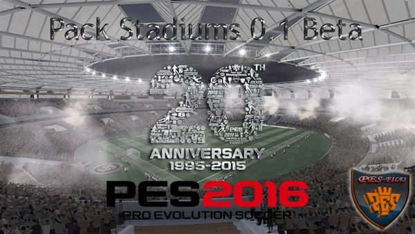 PES 2016 Pack Stadiums 0.1 Beta by Estarlen Silva
