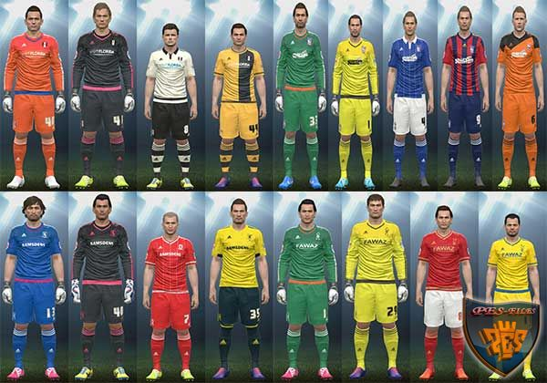 PES 2016 Skybet Champhionship 2015-16 Kitpack