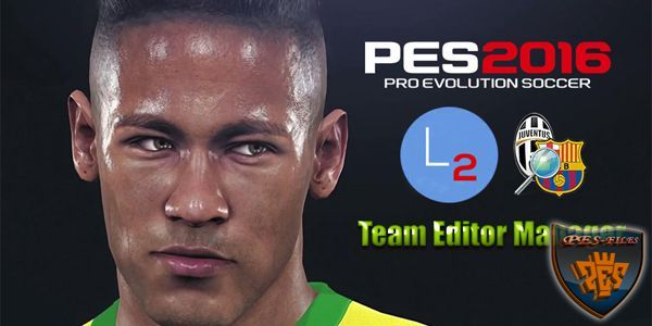 PES 16 Team Editor Manager version 1.7 beta