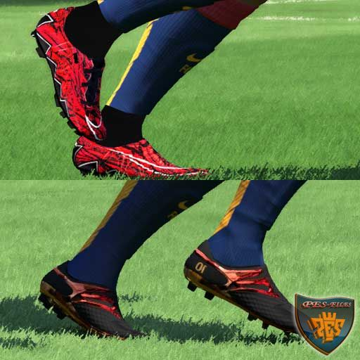 Messi and Lewandowski Boots 15/16 For Pes 2016