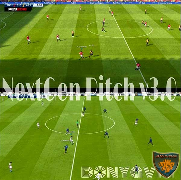 Pes 2016 NextGen Pitch v3.0 by donyavia