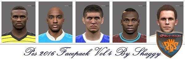 Pes 2016 Facepack Vol 4 by Shaggy