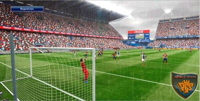 Pes 2016 Estadio Vicente Calderon stadium by tizziano