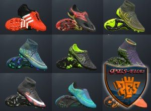 PES 2016 New Mini Boot Pack 2015-16