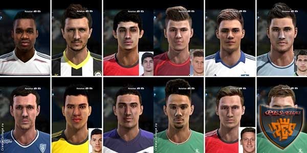 Pes 2013 Facepack by bradpit62