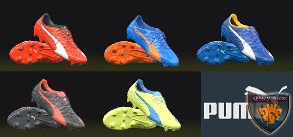 PES 2016 PUMA Evospeed Pack 15/16 by tisera09