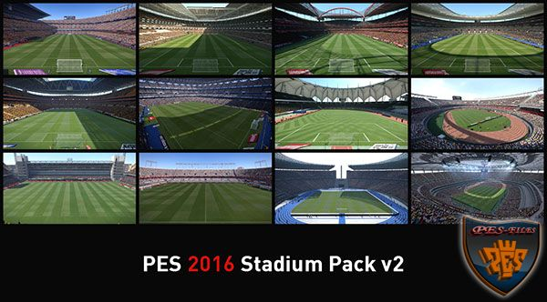 Pes 2016 Stadium Pack v2 by NikoLiberty4