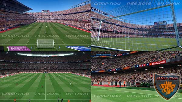 Camp Nou for Pes 2016 by txak