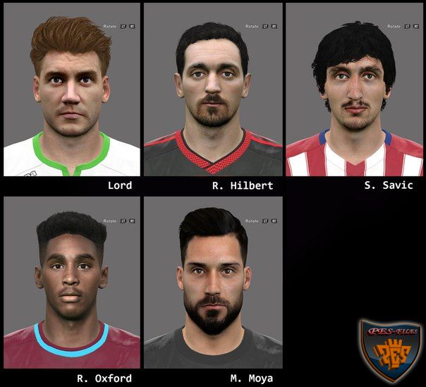 Pes 2016 Facepack3 by A.Mussoullini