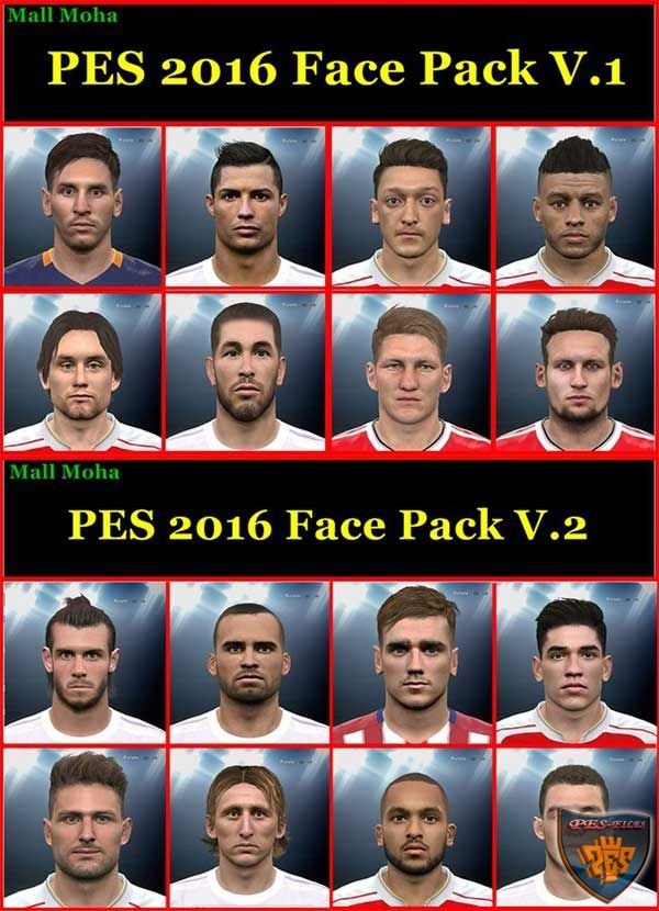 PES 2016 Face Pack by Mall Moha