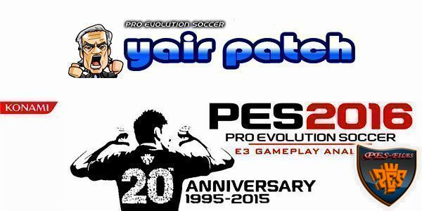 PES 2016 Gameplay Patch (27.10.15) by yair25
