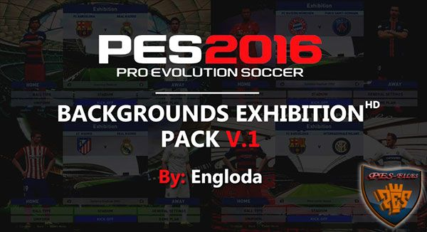 Backgrounds Exhibition Pack Vol. 1 By Engloda