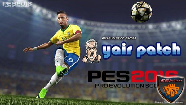 Core GamePlay Patch For PES2016 (01.11.15) by yair25