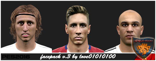 Pes 2016 Facepack v.3 by love01010100