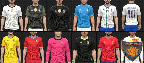 PES 2016 Euro 2016 KitPack vol. 1 by MoHaMmAd
